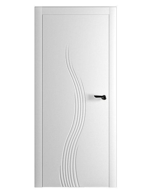 Окрашенная дверь TOLSTOI Рал-белый
