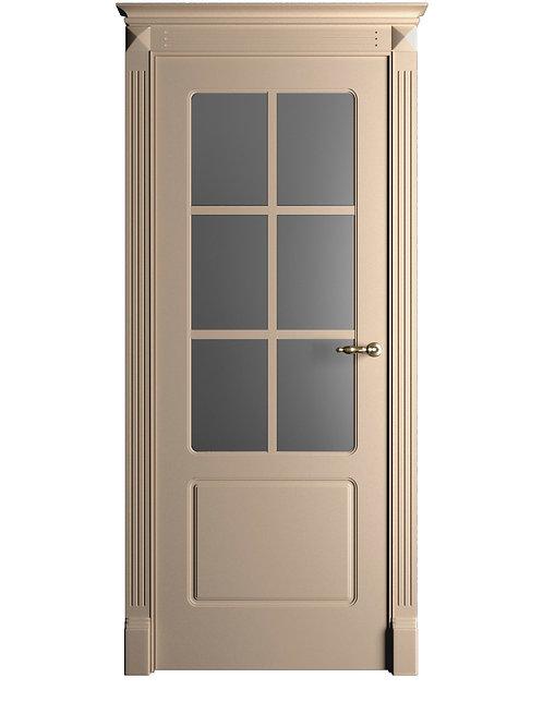 Окрашенная дверь Standart 012/Р RAL-1019