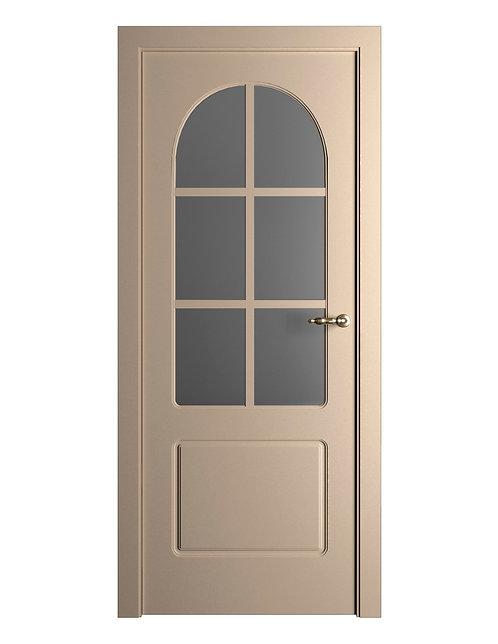 Окрашенная дверь Standart 06/Р RAL-1019