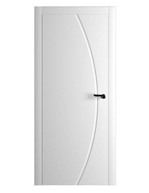 Окрашенная дверь BACON Рал-белый
