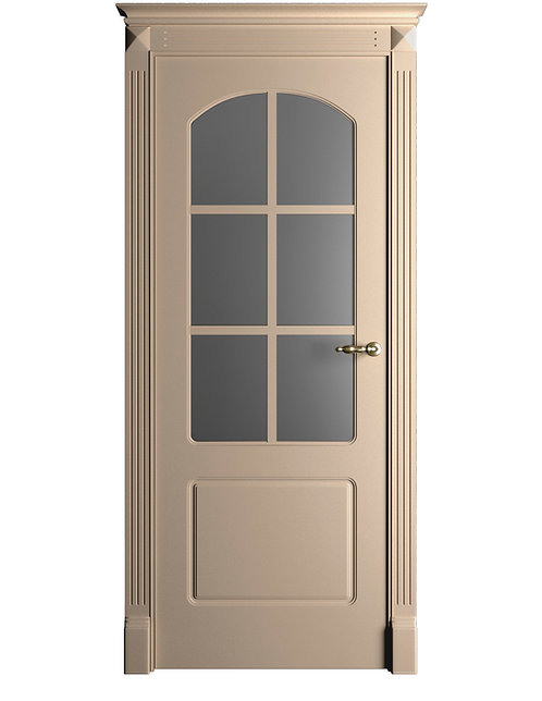 Окрашенная дверь Standart 05/Р RAL-1019