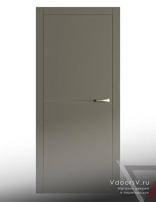 Окрашенная дверь L-1 RAL-7039