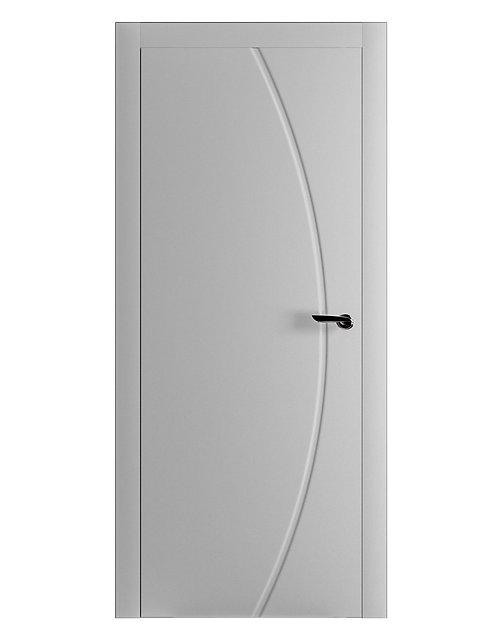 Окрашенная дверь BACON Рал-7035