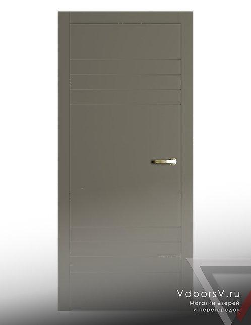 Окрашенная дверь 4-4 RAL-7039