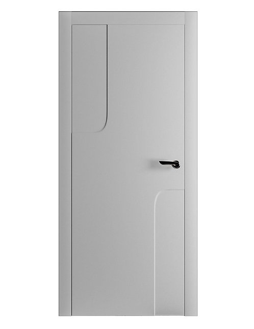 Окрашенная дверь RENOIR Рал-7035