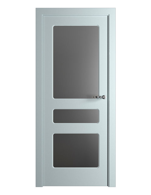 Окрашенная дверь Standart 08/3 RAL-7035