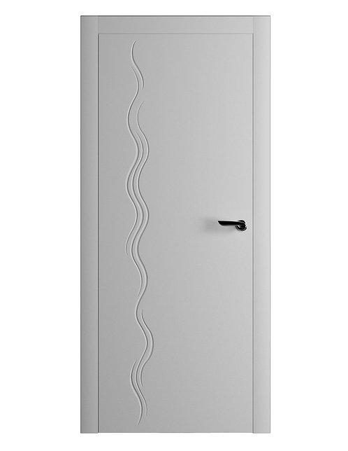 Окрашенная дверь NERUDA Рал-7035