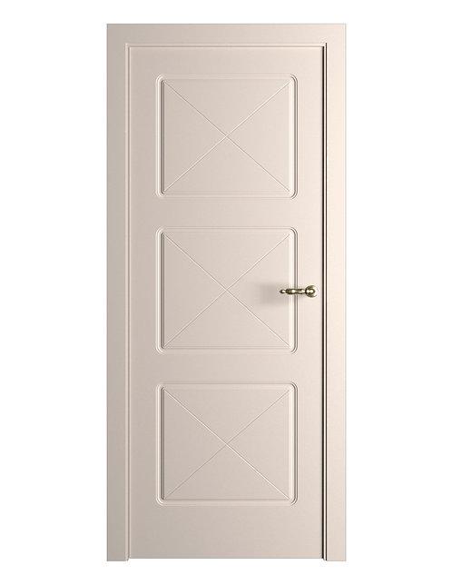 Окрашенная дверь Standart 3 RAL-9001