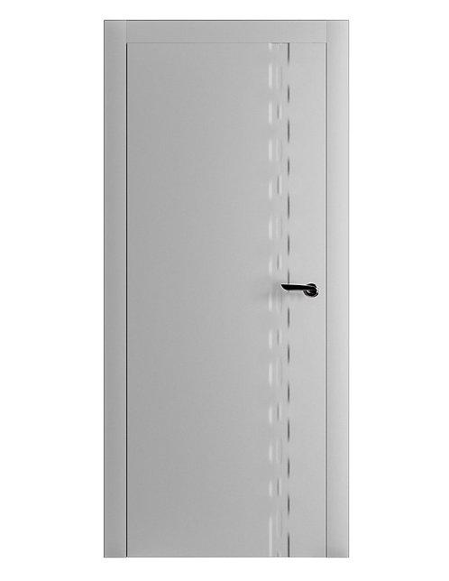 Окрашенная дверь BOTTICELLI Рал-7035