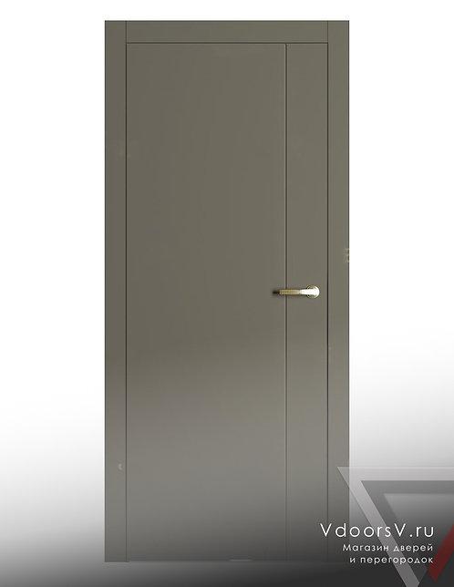 Окрашенная дверь V-1 RAL-7039