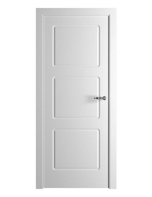 Окрашенная дверь Standart 3 RAL-белый
