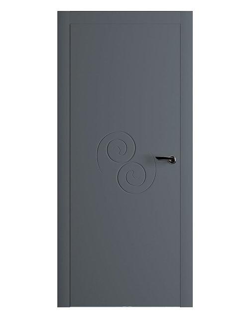 Окрашенная дверь UNAMUNO Рал-7011