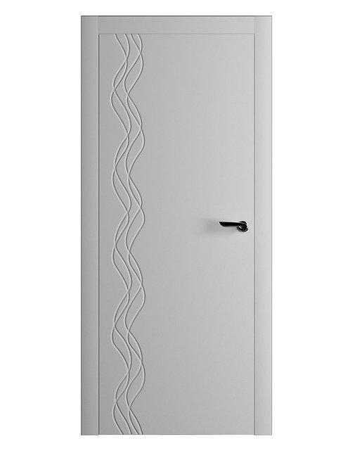 Окрашенная дверь BAROJA Рал-7035