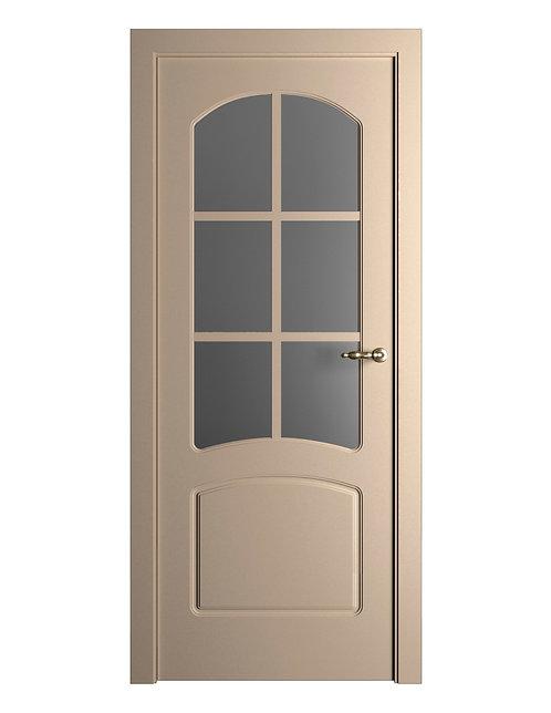 Окрашенная дверь Standart 07/Р RAL-1019