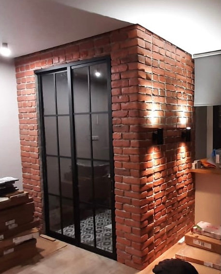 В квартире- студии зонируем кухонную зону. Пос. Филимонковское, Новая Москва.