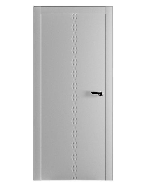 Окрашенная дверь KLEE Рал-7035