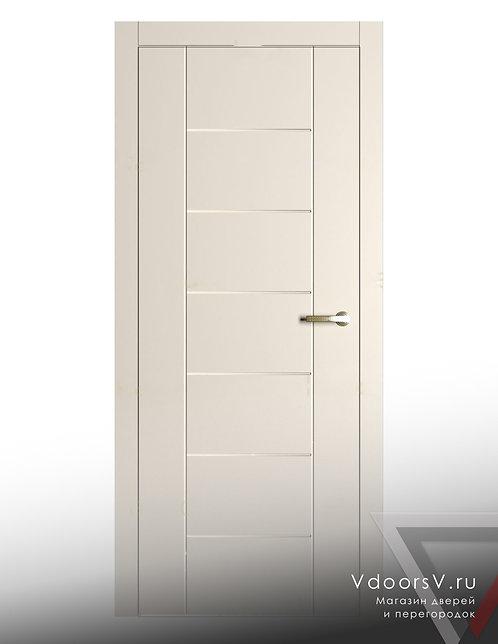 Окрашенная дверь S2-S6 RAL-9001