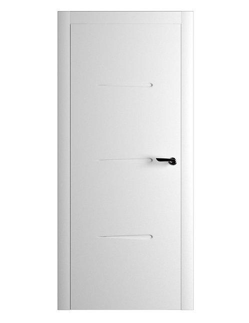 Окрашенная дверь RAFAEL Рал-белый
