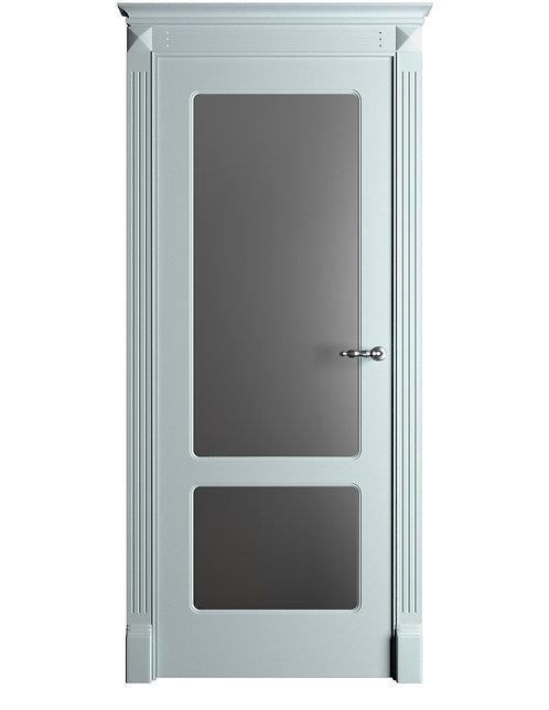 Окрашенная дверь Standart 012/2 RAL-7035