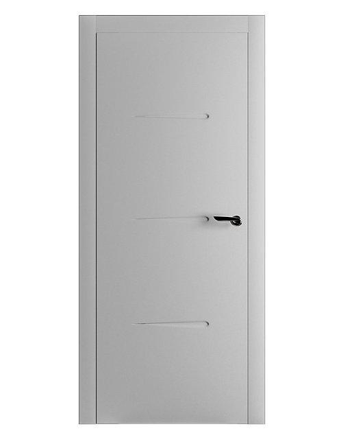 Окрашенная дверь RAFAEL Рал-7035