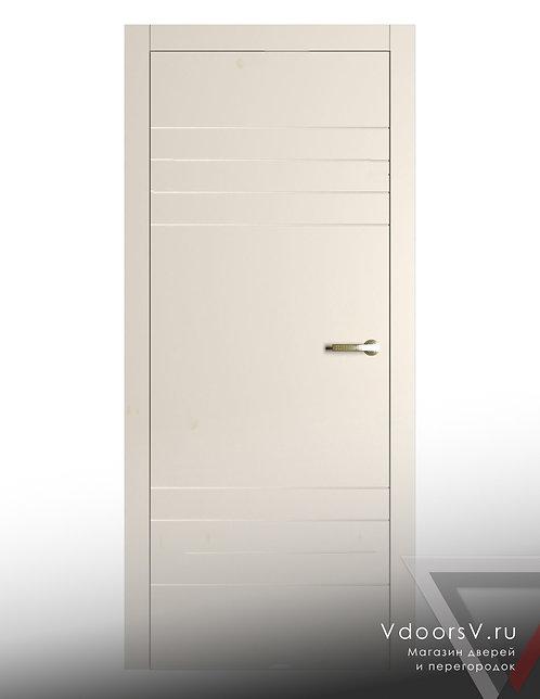 Окрашенная дверь 4-4 RAL-9001