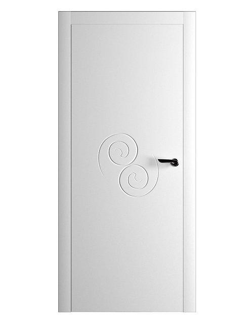 Окрашенная дверь UNAMUNO Рал-белый