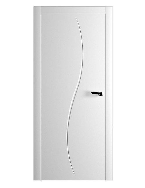Окрашенная дверь DUMONT Рал-белый