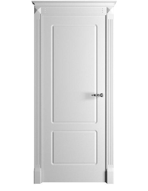 Окрашенная дверь Standart 12 RAL-белый