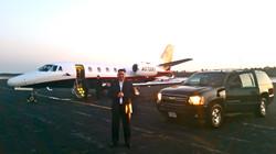 Private Jet Chauffeur