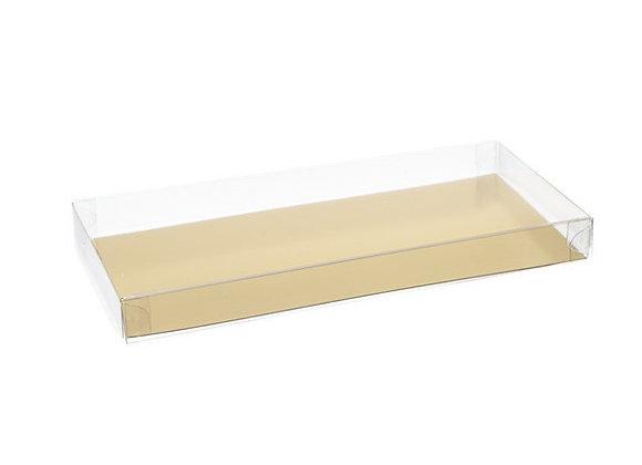 Dėžutė šokoladui 16x8 cm, H 1,8 cm