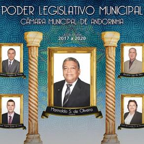 19/08: Câmara aprova contas de 2017 do prefeito Renato Brandão
