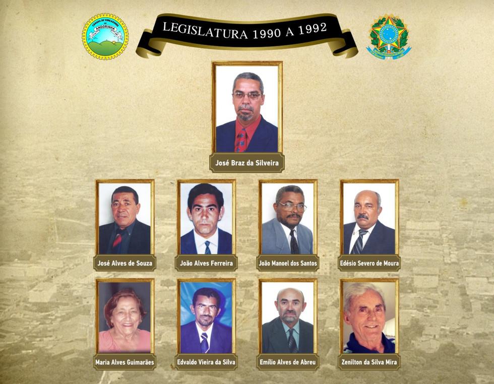Legislatura 1990 A 1992