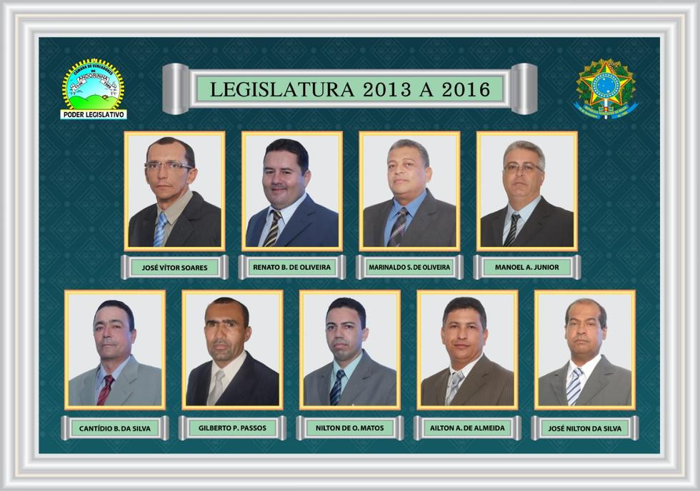 Legislativa 2013 A 2016