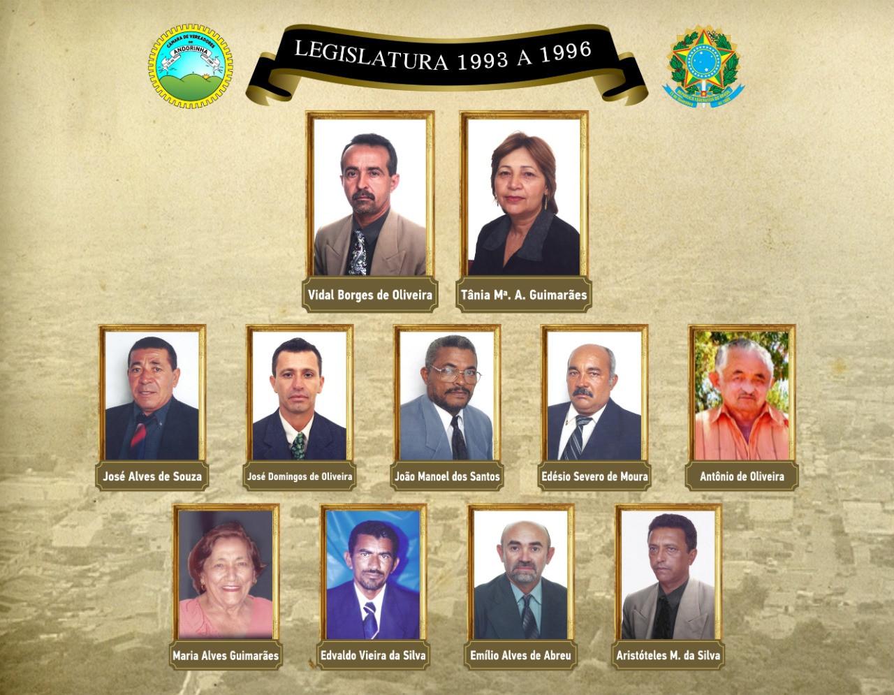 Legislatura 1993 A 1996
