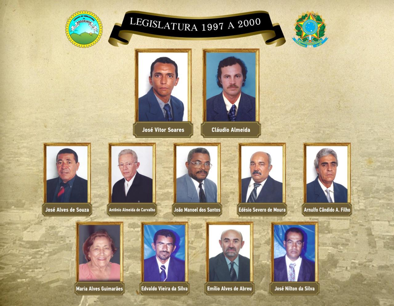 Legislatura 1997 A 2000
