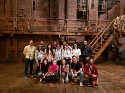 Backstage Hamilton el Musical