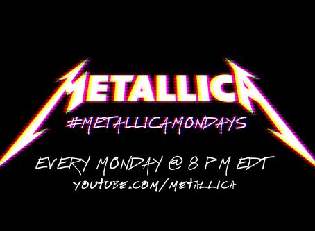 Llegan los #MetallicaMondays