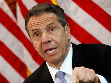El gobernador de Nueva York, anuncia reapertura de estadios y arenas.