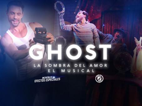 Ghost el Musical, sorprende con efectos especiales.