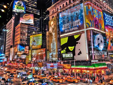 Teatros en Nueva York podrán abrir oficialmente el 19 de mayo.