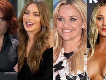 Conoce a las actrices mejor pagadas de Hollywood.