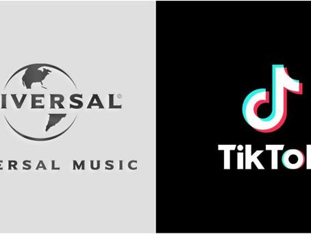 TikTok y Universal Music Group anuncian una alianza global.