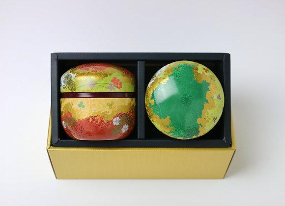 Hanasoroe Tea canister Gift Set