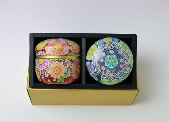 Kaleidoscope Tea canister Gift Set