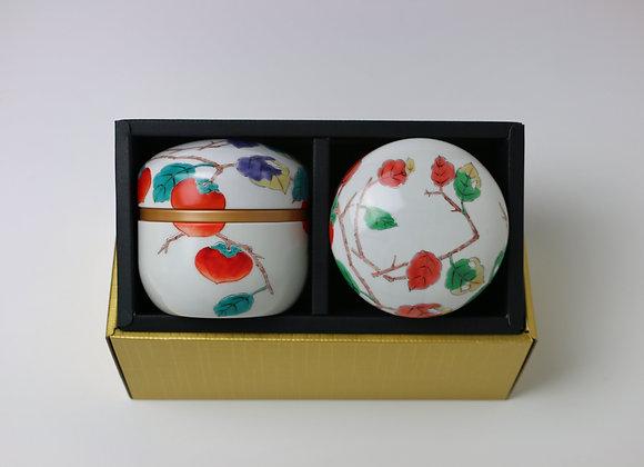 Arita Kakie - Tea canister Gift Set