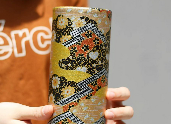Handcrafted Wagami Tea Canister