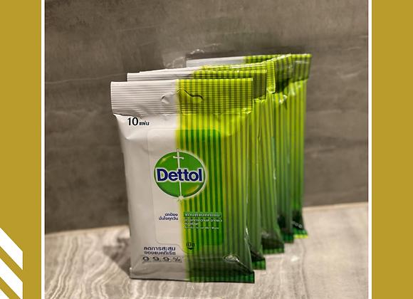 滴露消毒濕紙巾 (10張/包)