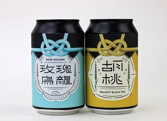 Double tea lager (4pcs in a set) 茶味拉格啤酒四罐裝