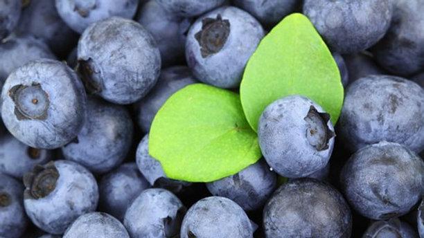 White Chocolate Blueberry Fudge