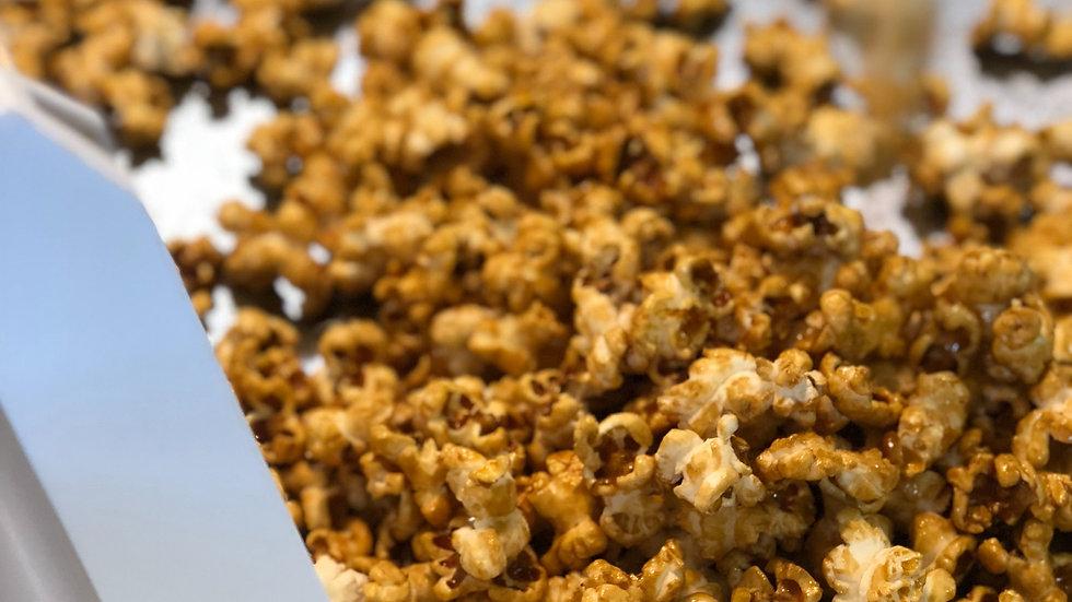 Nutty Popcorn Fudge
